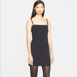 Helmut Lang Stretch Woven Mini Dress